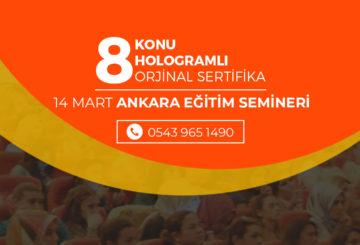 14 Mart Ankara Çocuk Gelişimi Semineri